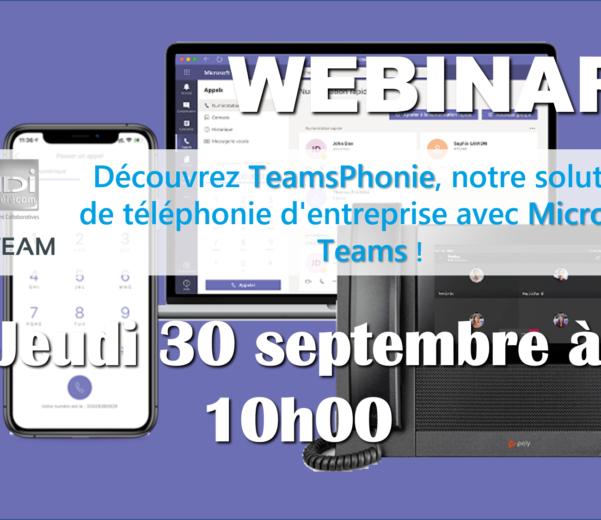WEBINAR VDI TELECOM RTEAM TELEPHONER AVEC MICROSOFT TEAMS